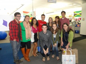 Meeting Googlers from AdWords Teams.