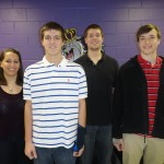 Ashley Musumeci (Team Leader), Eric Pritchett, Mike Pazirandeh, and Jack Crowder