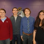 Patrick Shamburger, Chase Murray, Lucas Falzetti (Team Leader), and Nicole Gombos