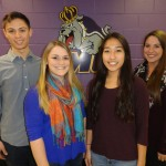 Patrick Cusumano, Jenna Ward, Oeuyown Kim, and Lindsay Jacobs (Team Leader)