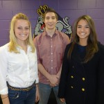 Louise Lehmuller, Austin Shifflett (Team Leader), and Marissa DeMilio