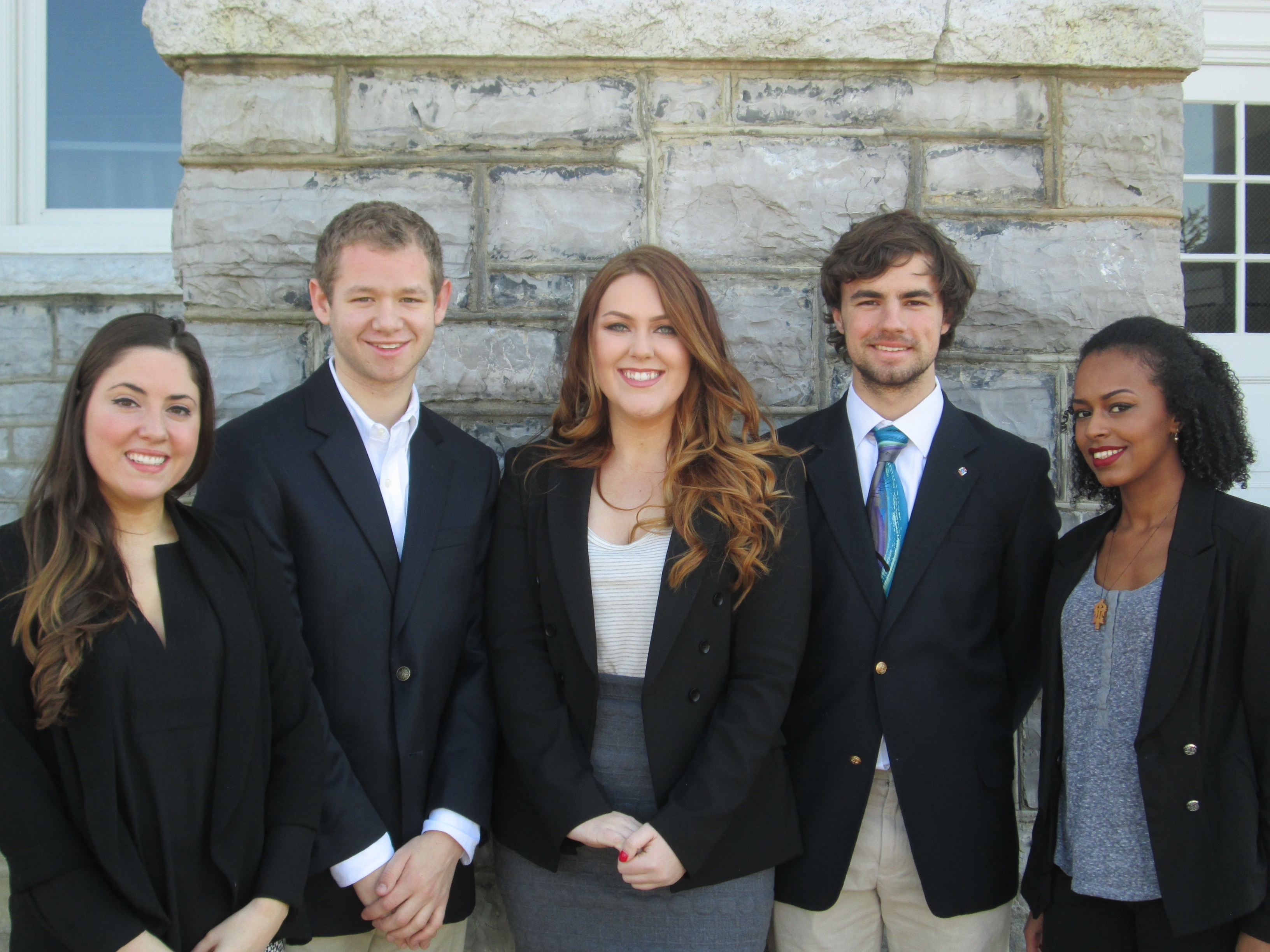 Dorothy Capasso (Team Leader), Mitchell Meyers, Allie Hammond, Joseph Scully, and Mariam Bekele - 3rd Place Bronze Winners in the Undergraduate Division of the 2015-16 Marketing EDGE Collegiate ECHO Challenge.