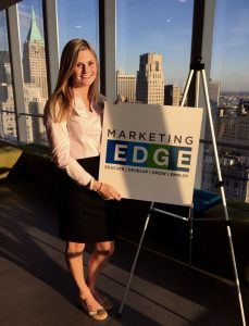 Jordan Kimball from JMU at the 2016Marketing EDGE Collegiate Summit - Digital