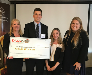 Lynn Radocha (Team Captain), Bryce Pangman, Briana Cifelli, and Nicole Carothers at the DMAW/EF Fall 2016 Collegiate MAXI.