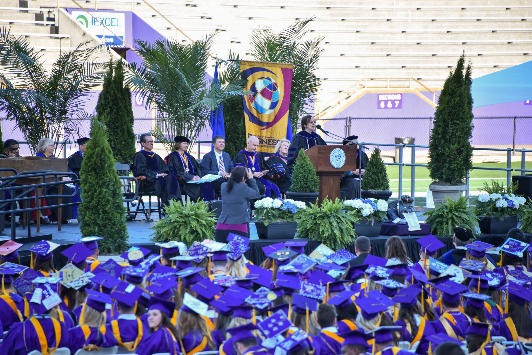 Dr. Theresa Clarke's Commencement Speech to the JMU College of Business Class of 2017.
