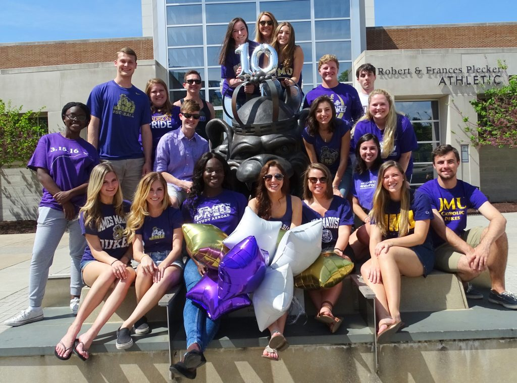 The James Madison University Undergraduate Google Online Marketing Challenge (GOMC) Class of 2017